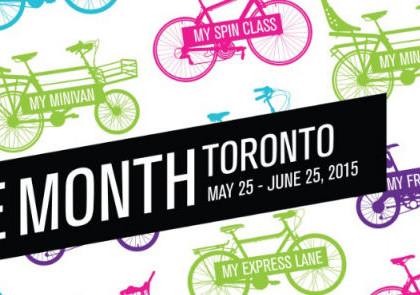Bike Month in Toronto