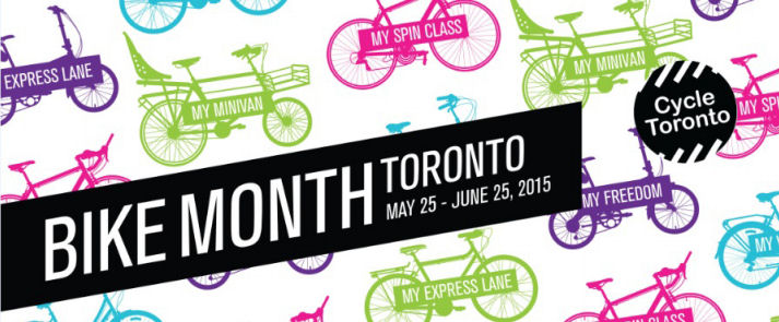 Bike Month in Toronto